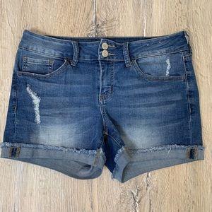 SO Blue Jean Shorts